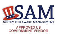 Approved US government vendor